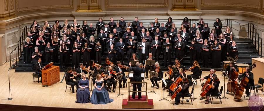 Riverland Choir students at Carnegie Hall, May 2019