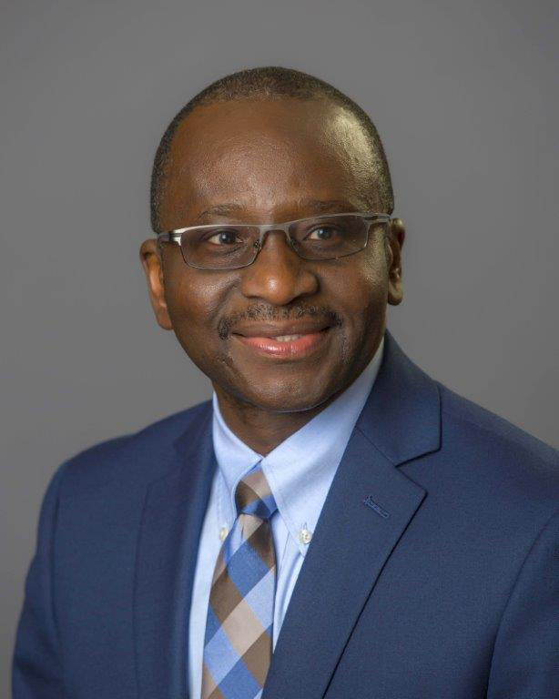 Photo of Adenuga Atewologun, college president
