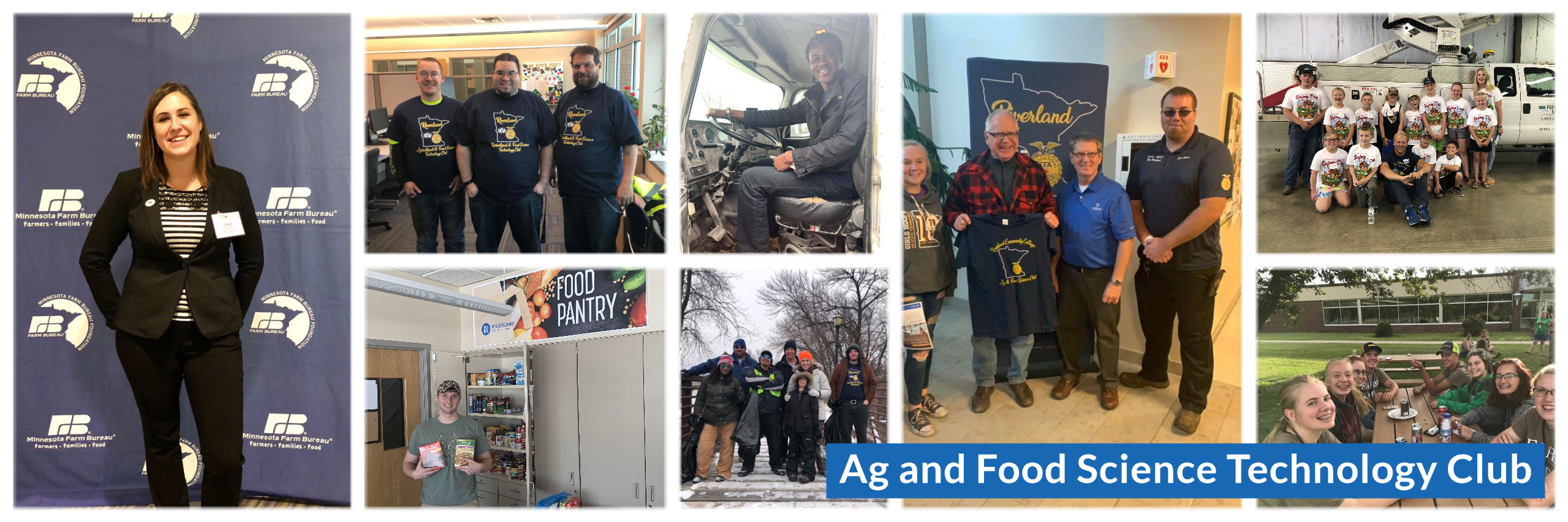 Ag Club Header Collage